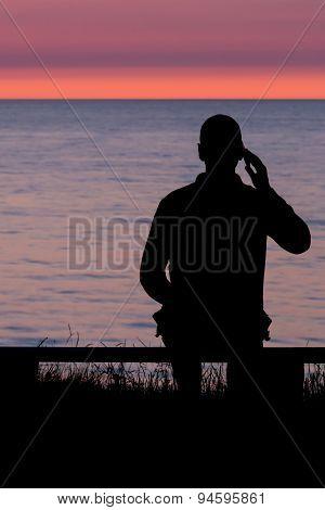 Talking At The Ocean