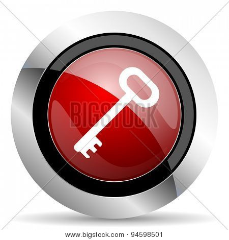 key red glossy web icon original modern design for web and mobile app on white background