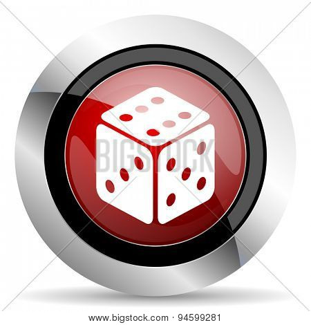 game red glossy web icon original modern design for web and mobile app on white background