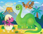 image of dinosaur-eggs  - Dinosaur theme image 5  - JPG