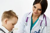 picture of medical examination  - Family doctor examination - JPG