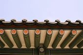 image of korean  - Seoul Korean traditional architecture sky asian roof - JPG