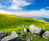 stock photo of mountain-range  - mountain landscape - JPG