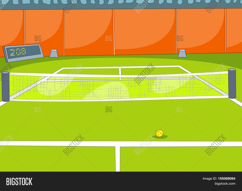 hand drawn cartoon sports tennis image u0026 photo bigstock