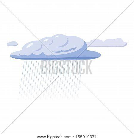 Heavy rain icon. Cartoon llustration of heavy rain vector icon for web