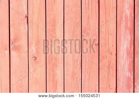 Red weathered wooden background no. 2 as background