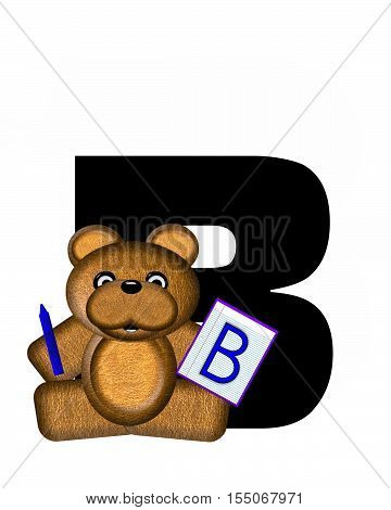 Alphabet Teddy Homework B