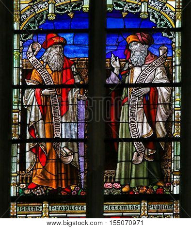 Isaiah And Jeremiah - Stained Glass