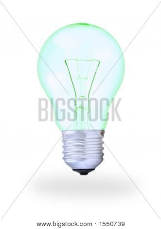 Light Bulb With Shadow