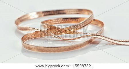 Silver And Gold Chains