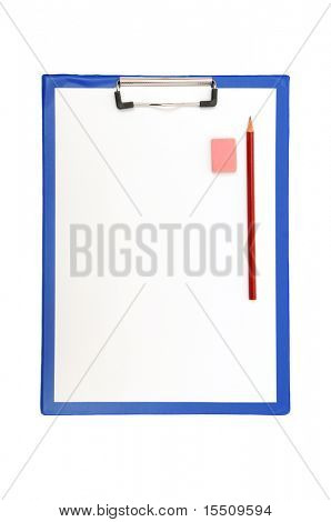 clipboard isolated on a white background
