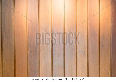 Wooden interior background with light stock photo