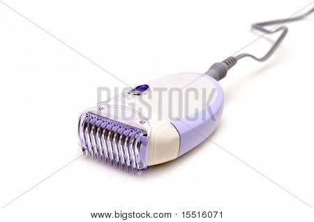 epilator isolated on a white