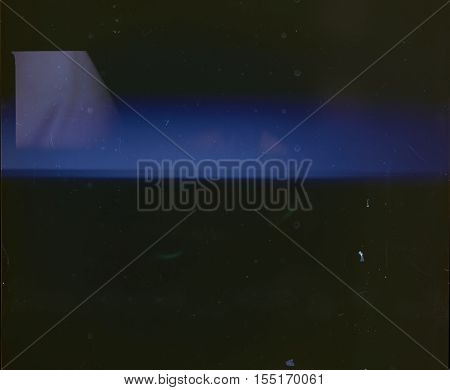 Dark abstract background Overlay From an Analogue Film