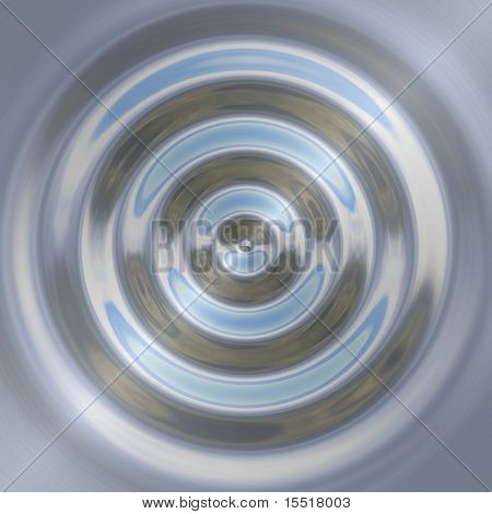 Metal plate with drops of water. Color background texture.