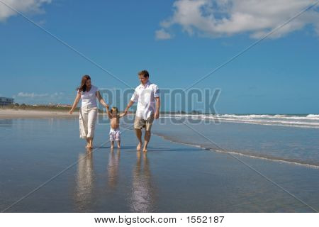Walking On A Beach