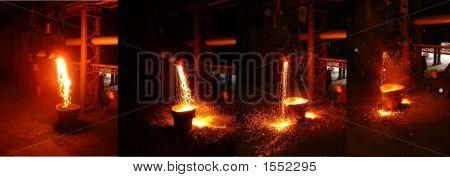In A Steel Mill