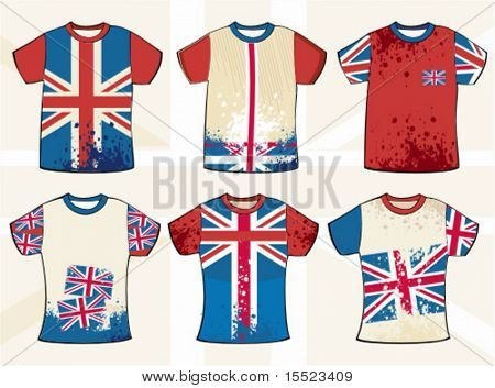 Grunge english t-shirt design. To see similar design elements, please visit my gallery