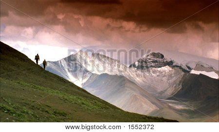 Backpacking In Tibet