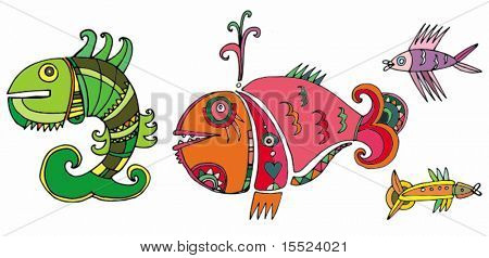 Cute fishes.  To see similar, please VISIT MY GALLERY.