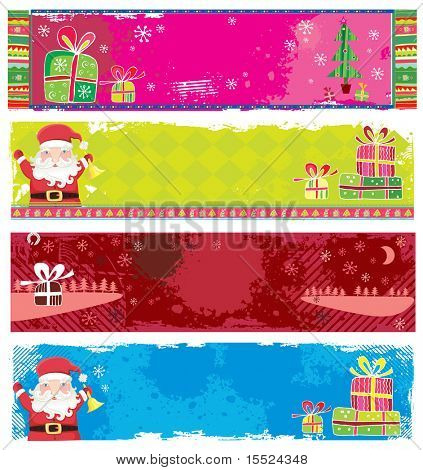Cute Christmas banners. To see similar, please VISIT MY GALLERY.