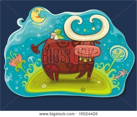 Fairy Cows in Magic Field. um ähnliche einzusehen, besuchen Sie bitte meine Galerie.