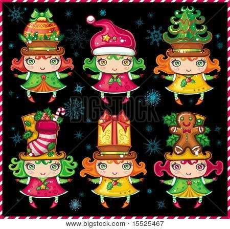 Christmas Santa Helpers series 2