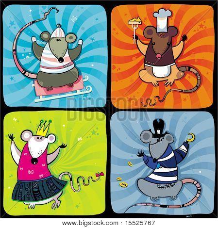 Funny rats series 1
