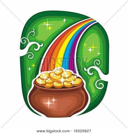 St. Patrick's Day icon series 6
