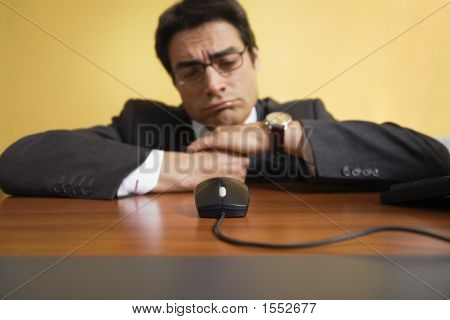 Annoyed Businessman