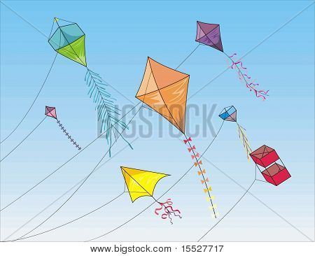To fly a kite