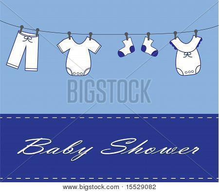 Baby Boy Invitation