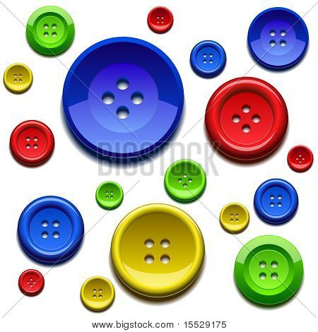 Sewing Color Buttons
