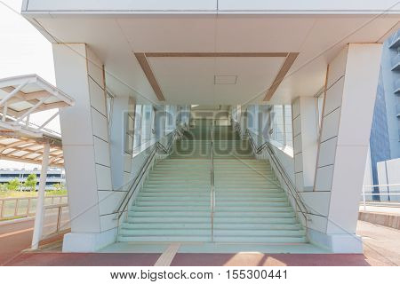 Architecture Staircase New Building Empty Scene.
