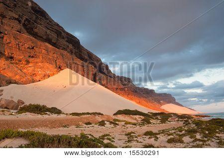 Sand Dunes Of Archer, Socotra Island, Yemen
