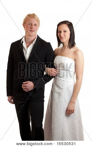 Young Couple Posing