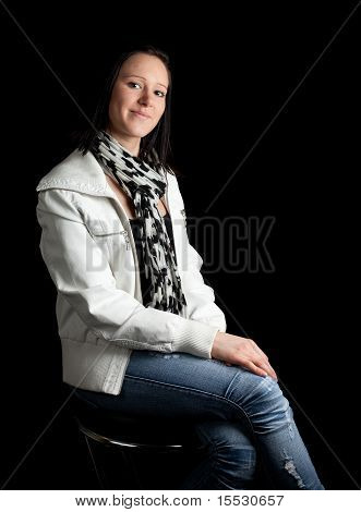 Young Woman Casual Posing
