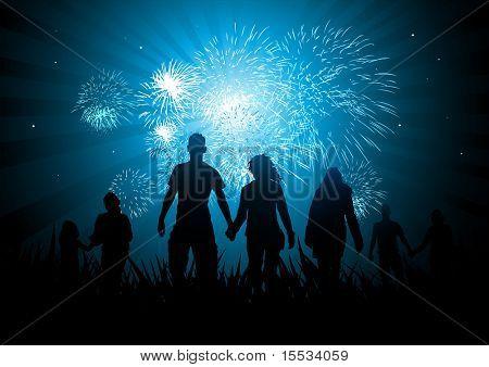 Celebraciones de la familia felices