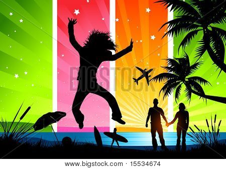 Friends and family having fun in the sun! More in this range can be found in my gallery.
