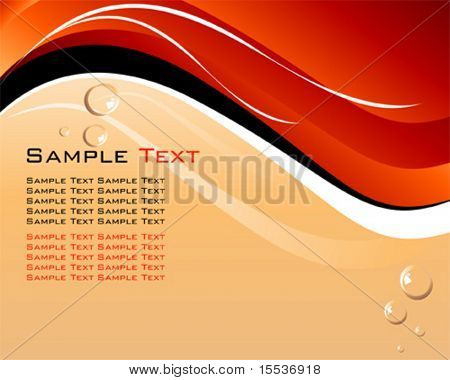vector abstract layout