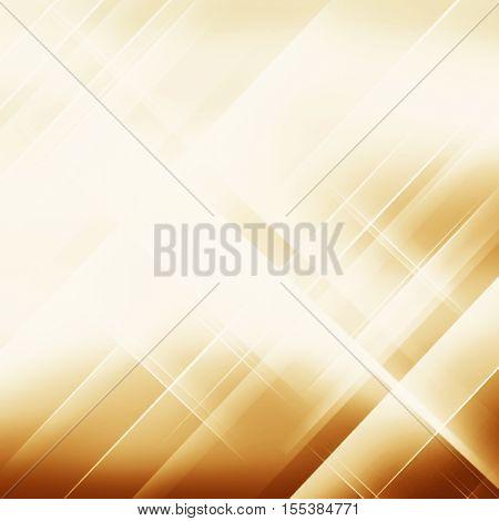 Geometric striped ornament. Modern stylish texture. Gold linear braids. Trendy gold glitter texture