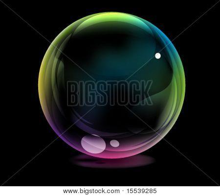 eps10 glossy ball