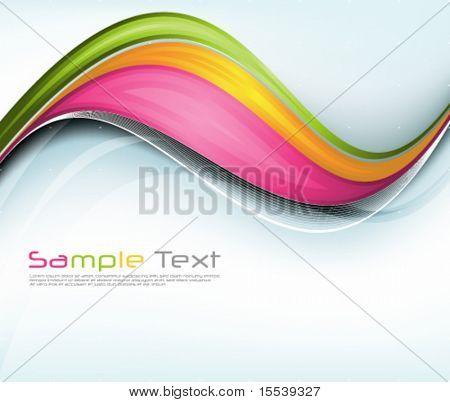 eps10 wavy designs