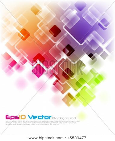 eps10 de fundo vector multicolor