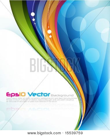 layout de vector eps10