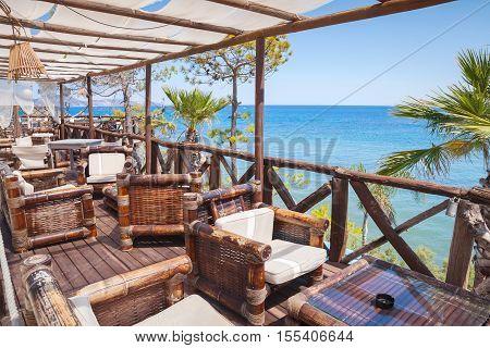 Seaside Balcony View, Popular Touristic Resort