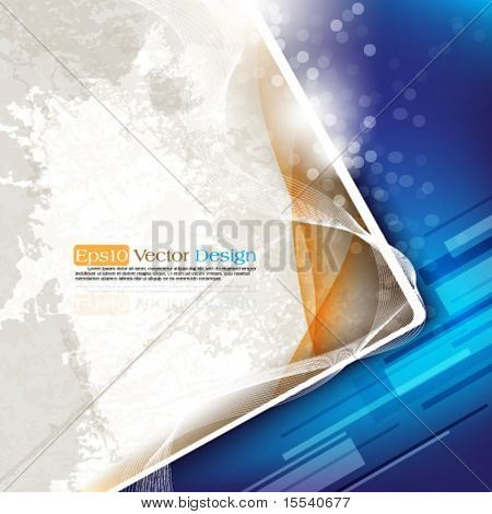 eps10 vector corporate abstract background in two colors