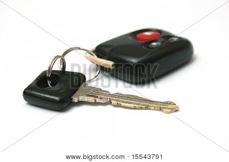 key from the car