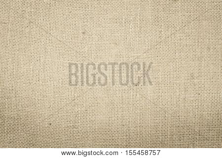 Sackcloth woven texture pattern background in light red cream beige brown color tone: Eco friendly raw organic flax sack cloth fabric textile backdrop: Bag rope thread detailed textured burlap canvas