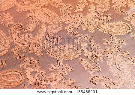 Fabric Silk Texture, Brown